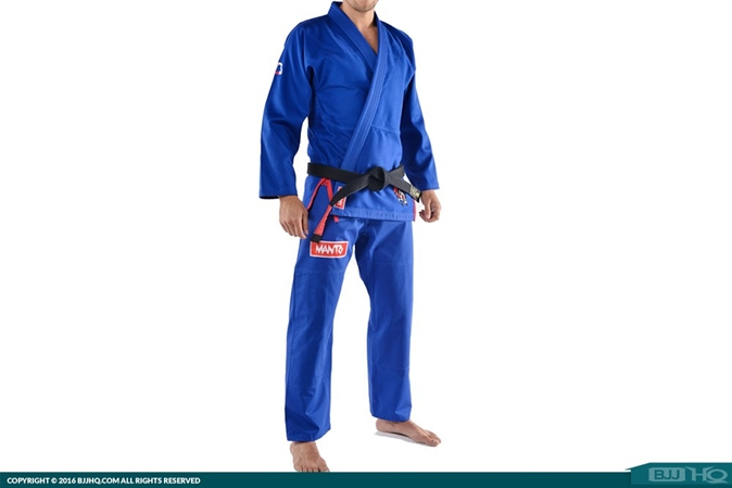 Manto Rooster Gi - Blue